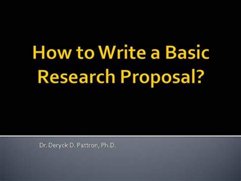 Example of dissertation proposal outline